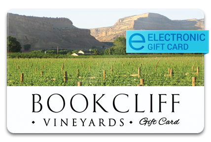 Bookcliff Vineyards E-Gift Card
